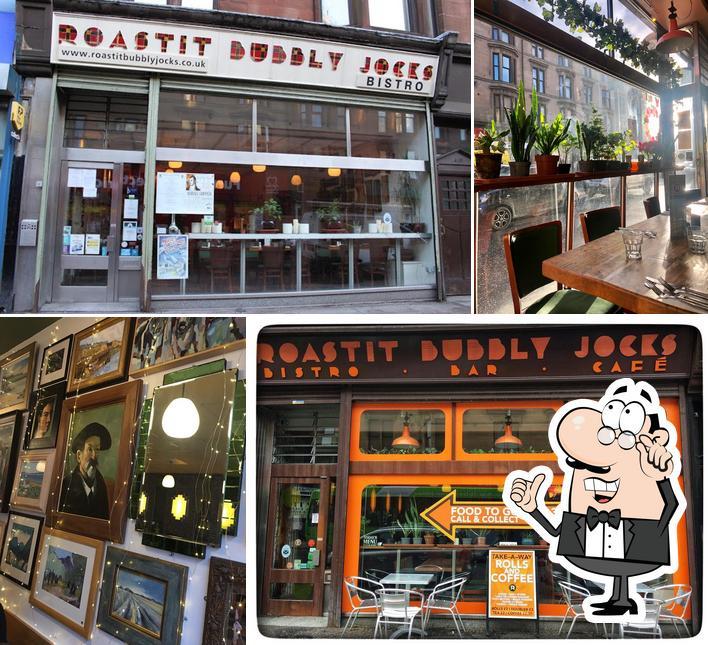 The interior of Roastit Bubbly Jocks