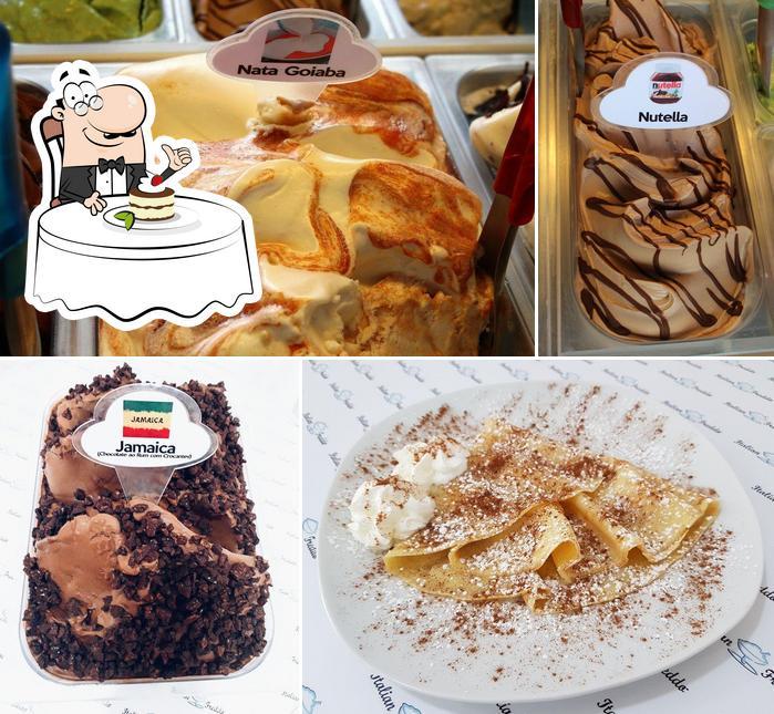 Italian Freddo offers a range of desserts