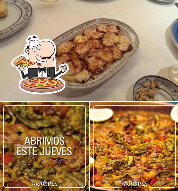 Prueba una pizza en ArroPes