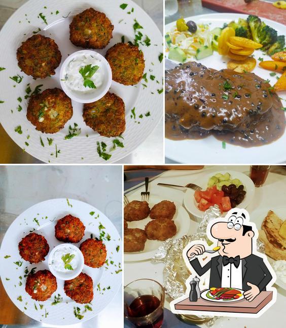 Meals at Taverna Ouzaki