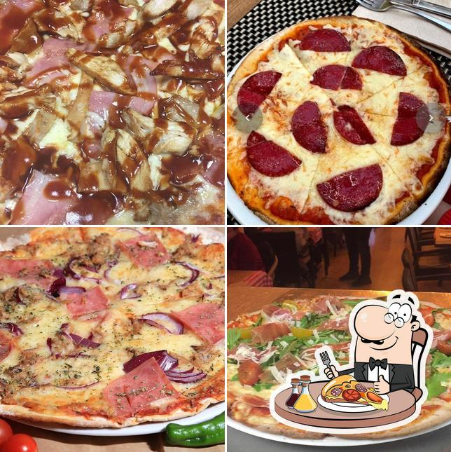 Get different kinds of pizza