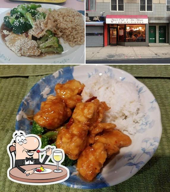 Meals at Ray's Cafe & Tea House