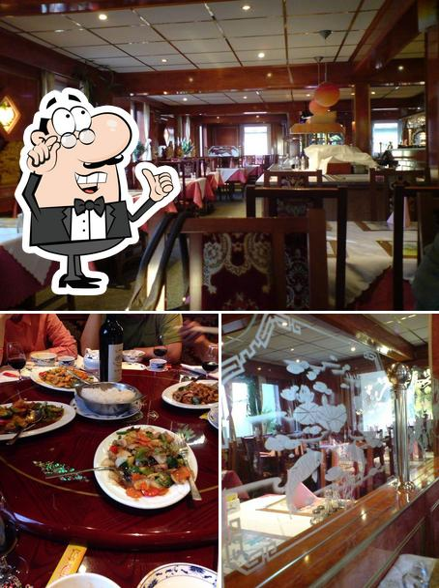 L'image de la intérieur et table à manger concernant Kaiserpalast