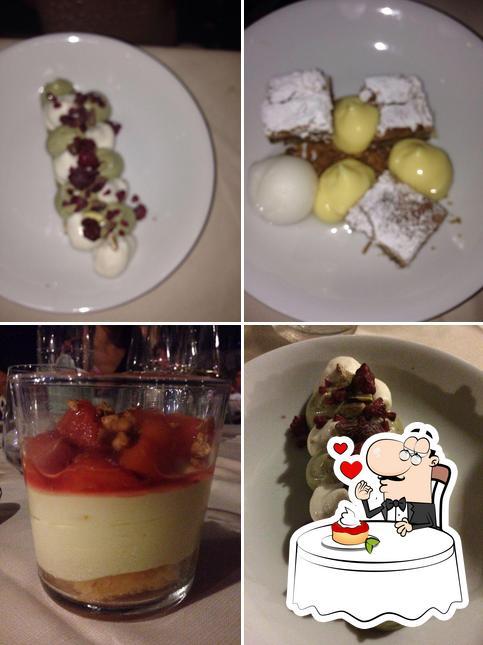 La Locanda Di Nettuno sert une sélection de desserts
