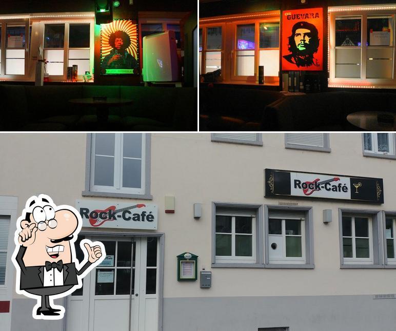 Die Inneneinrichtung von Rock Café Sinsheim
