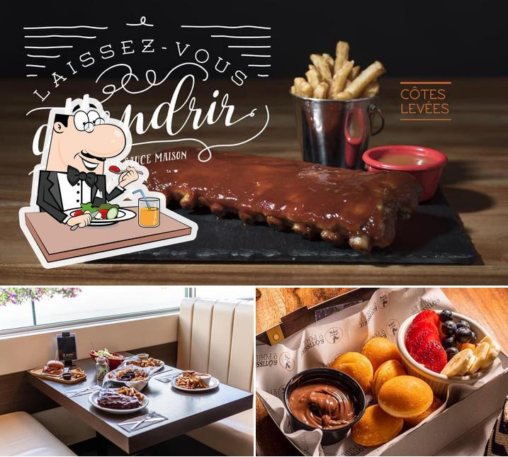"Еда в ""Rotisserie O'Poulet"""
