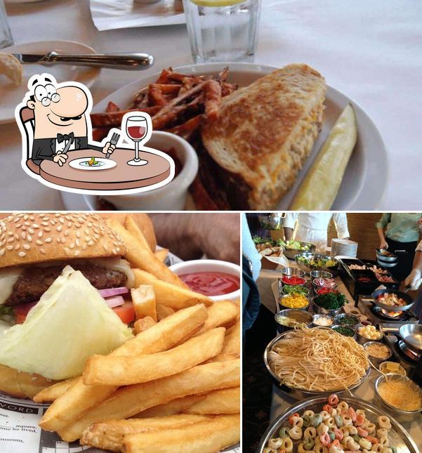 Food at Mullins Bar and Grill
