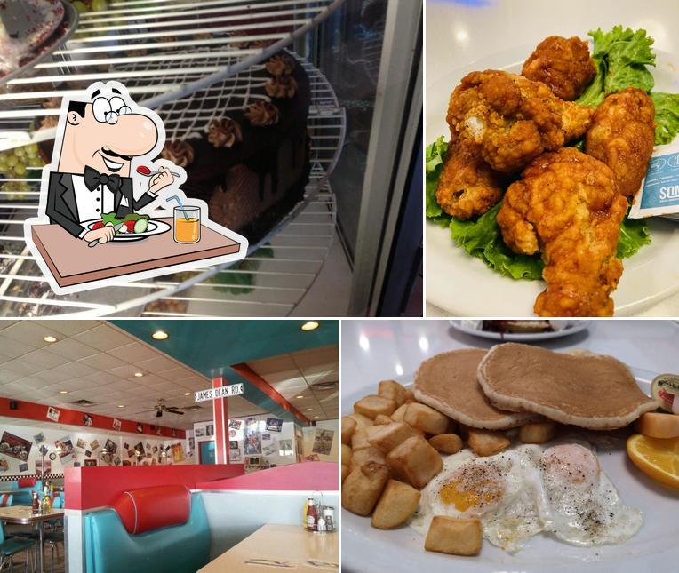 Food at Angel's Diner