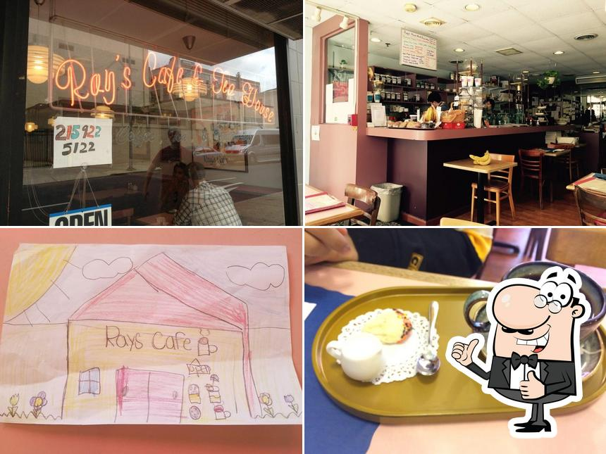 Here's a picture of Ray's Cafe & Tea House