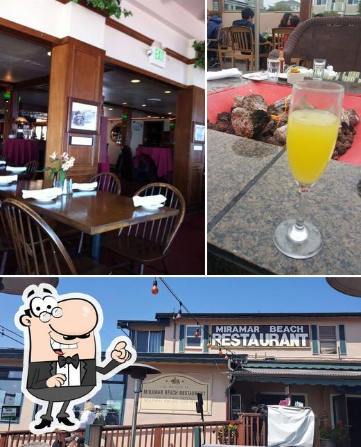 The interior of Miramar Beach Restaurant