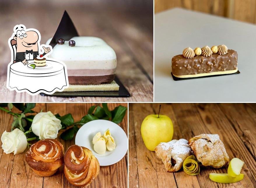 Pasticceria Serraia представляет гостям большой выбор десертов