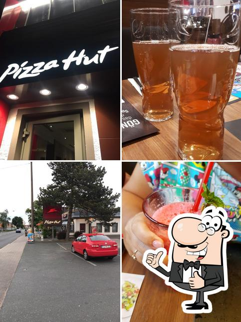Look at the picture of Pizza Hut