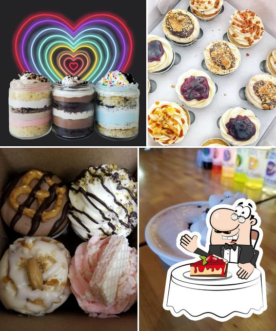 Killer Cupcakes Goremet serves a range of sweet dishes