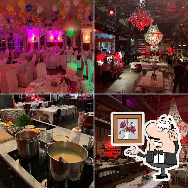 The interior of Landschof's Feiern & Feste / Catering & Events