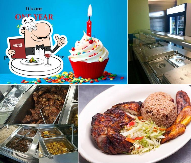 Food at Caribbean Delight