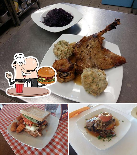 Probiert einen Burger bei Gaststätte SV Rohrbach