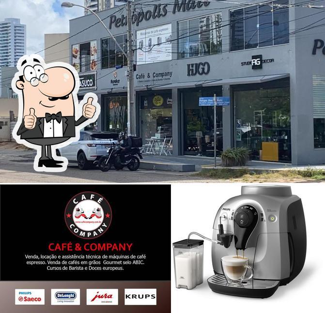 Here's a picture of Café & Company | Venda | Aluguel | Manutenção em Máquinas de Café