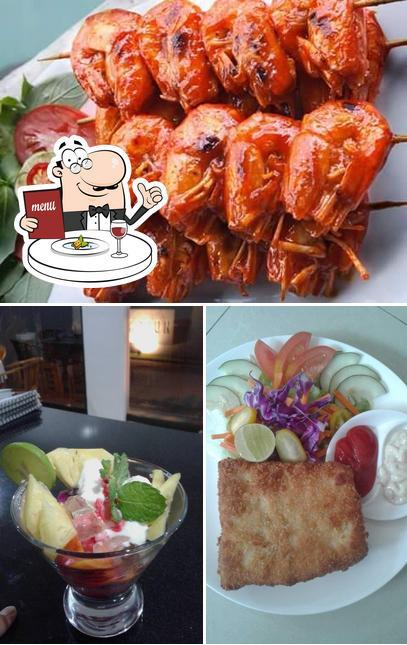 Meals at Warung Candidasa Moka