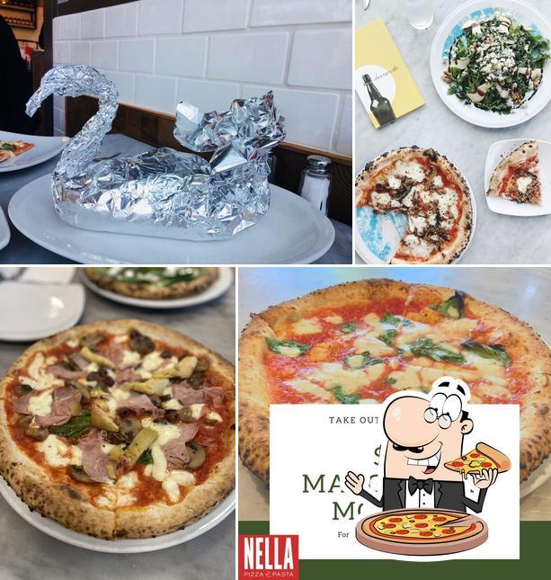 Order pizza at Nella Pizza e Pasta