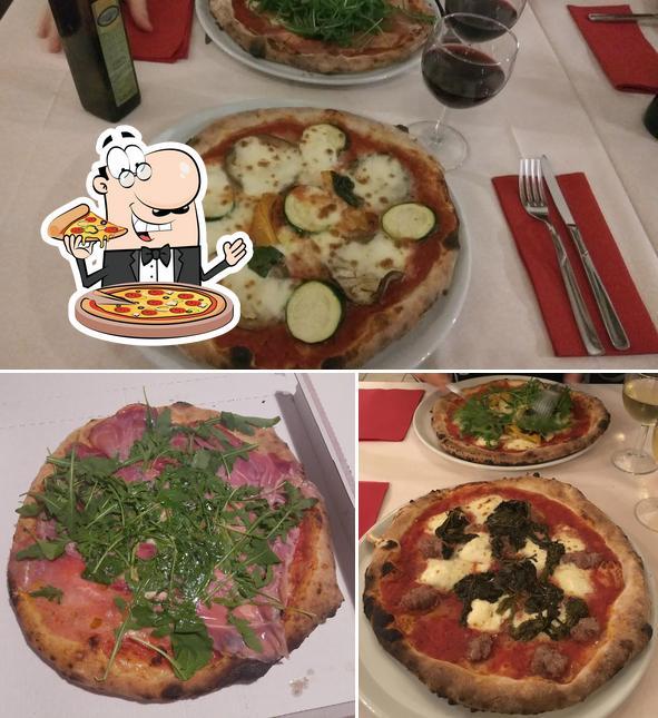 A Pulcinella Pizzaiolo, puoi assaggiare una bella pizza