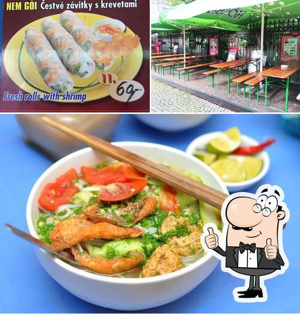 Here's an image of Ha Noi restaurace
