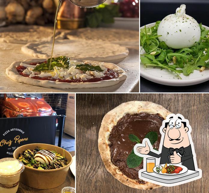 Nourriture à Pizzeria Chez Pepone - Albi