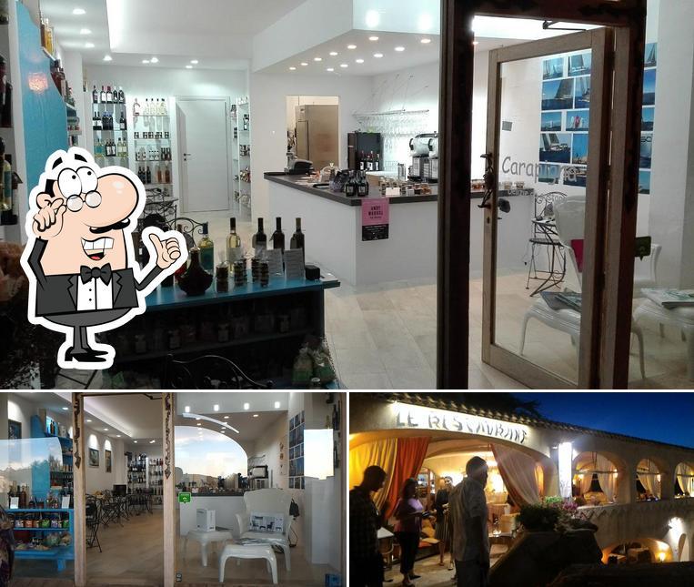 Gli interni di Wine bar Carapigna