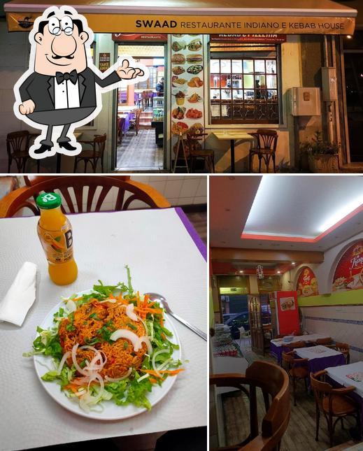 El interior de Swaad Restaurante Indiano e Kebab House
