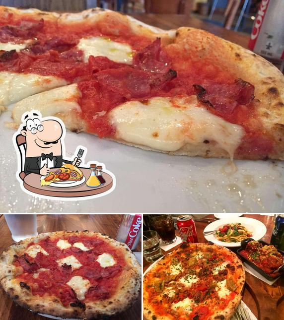 Get pizza at Buon Gusto
