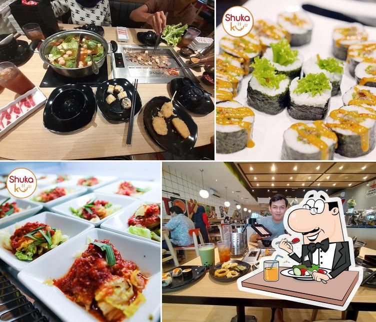 Meals at Shukaku BBQ & Shabu