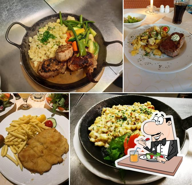 Essen im Café Restaurant Hermann