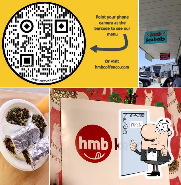 Look at the image of HMB Kebab