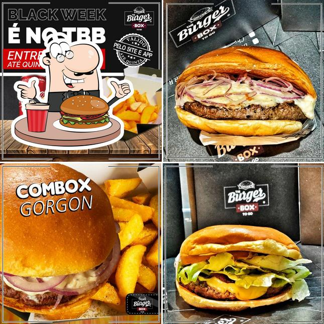 Os hambúrgueres do The Burger Box irão saciar uma variedade de gostos