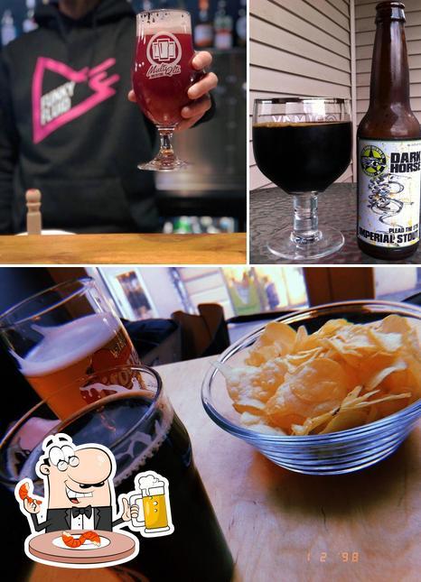 Pide una pinta de cerveza rubia o tostada