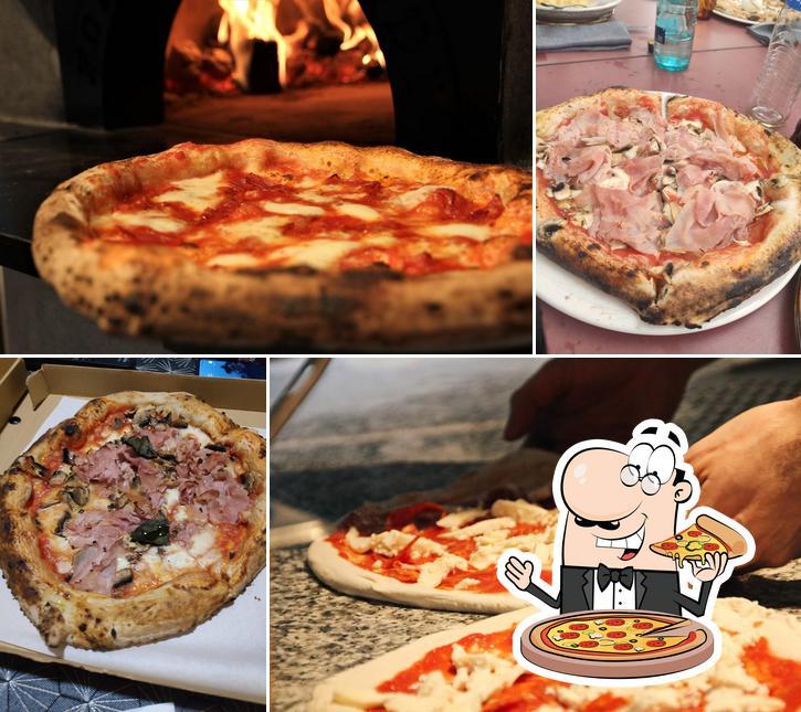 Prueba una pizza en La Burratina Trattoria Pizzería