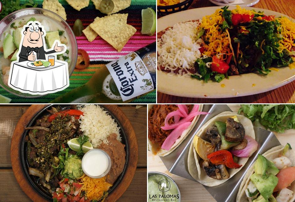 Meals at Las Palomas Restaurant & Bar