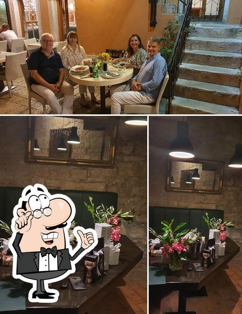 The interior of Dream Restaurant