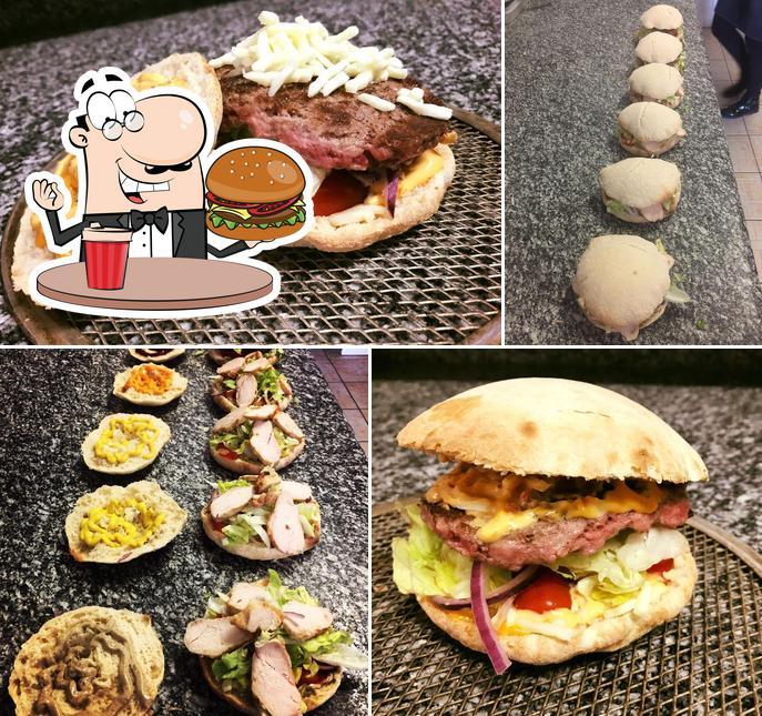 Prenez un hamburger à SPIANATA PIZZA
