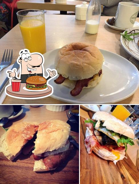 Try out a burger at Quay Ingredient