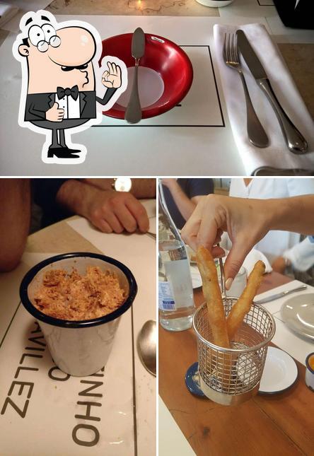 Here's a pic of Cantinho do Avillez