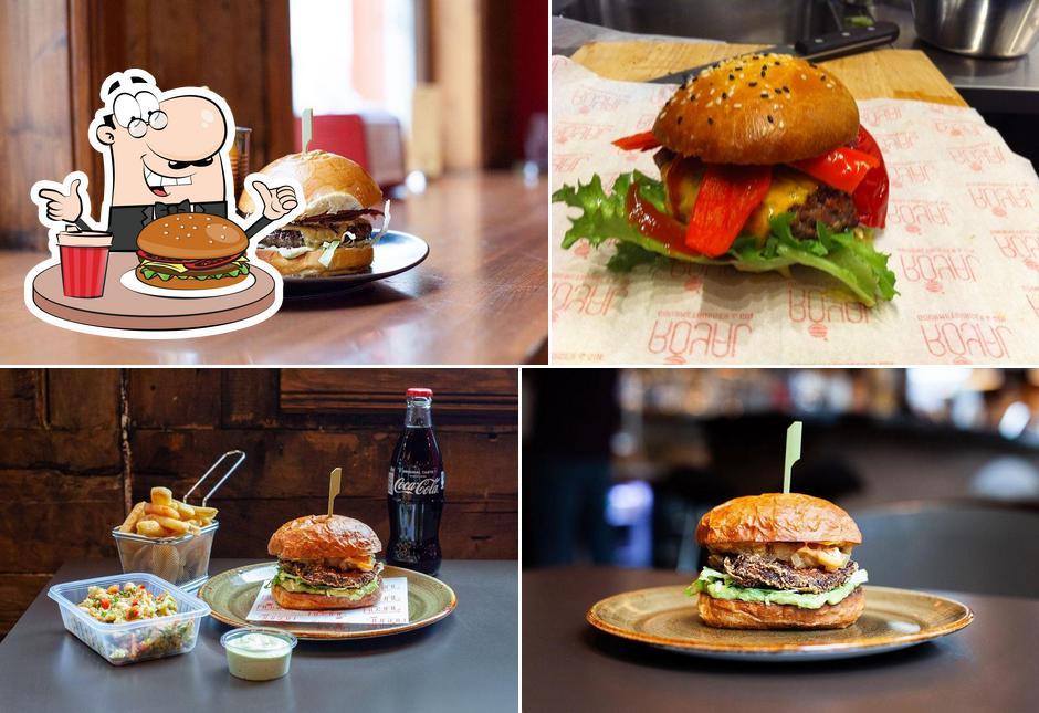 Pide una hamburguesa en Royal Gourmetburger & Gin
