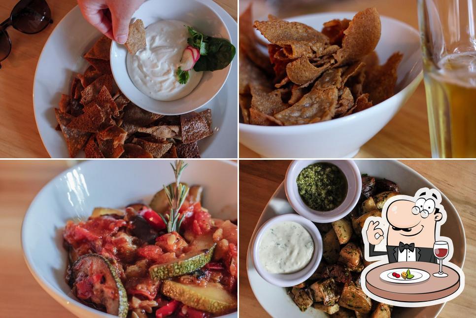 Food at Zinc Comfort Food