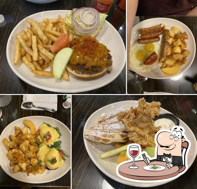 Food at Kook's Cooks