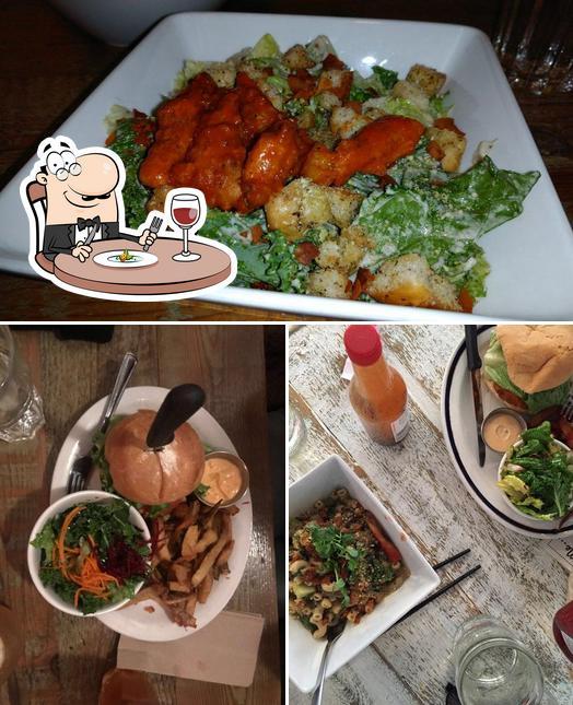 Food at Meet on Main
