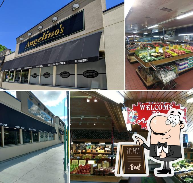 Here's a picture of Angelino's Fresh Choice Market