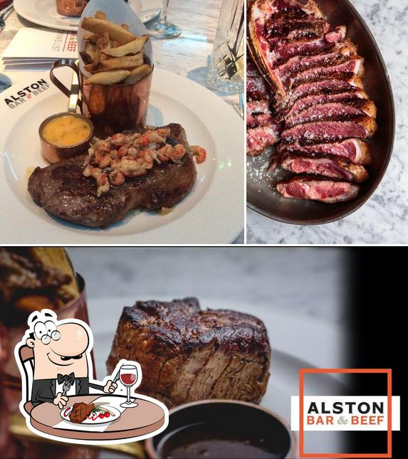 Get meat dishes at Alston Bar & Beef