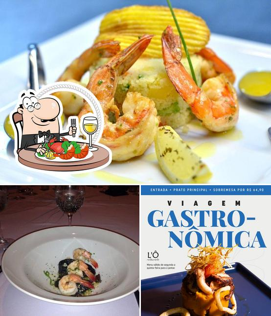 Try out seafood at Lo Restaurante