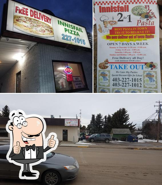 Look at the picture of Innisfail Pizza Ltd