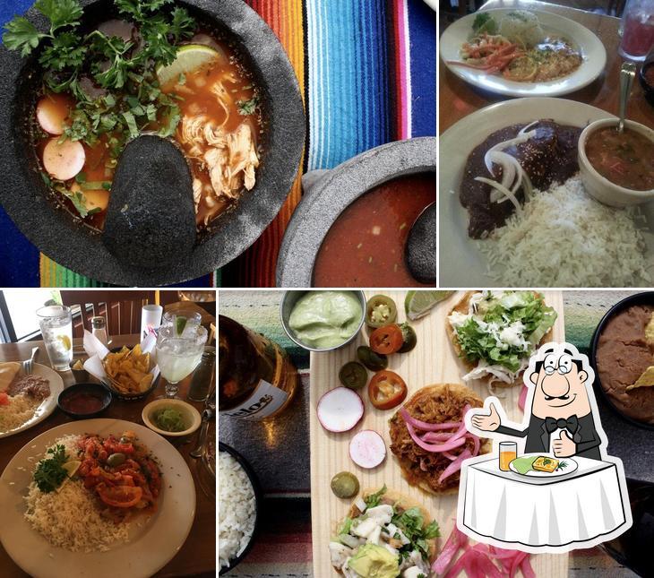 Food at Las Palomas Restaurant & Bar