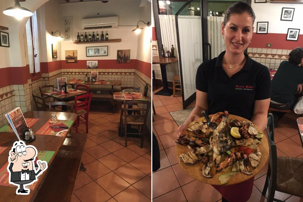 Check out how L'Antica Badia looks inside